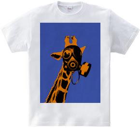 Collage Art Giraffe