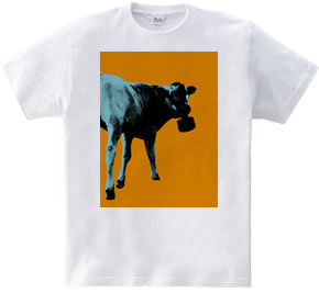 Collage Art Cow