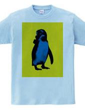Collage Art Penguin