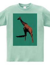 Collage Art Giraffe #2