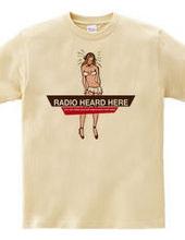 ここで聞こえるラジオ。