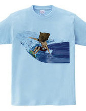 BEAR SURFING