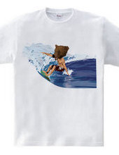 BEAR SURFING