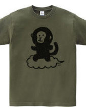 Monkey on cloud