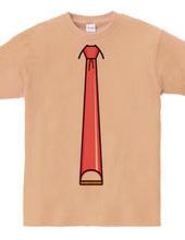 かまぼこ型ネクタイ