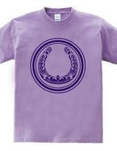 蹄鉄トライバル デザイン01-Purple-