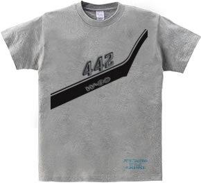マッスルカーエンブレムTシャツ(442 W-30)