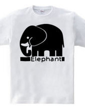 象シルエット
