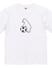 こぐまとサッカーボール