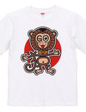文字絵のGO猿