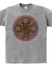 一猿の三猿メッセージ