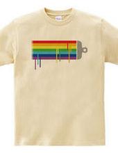 Paint rainbow