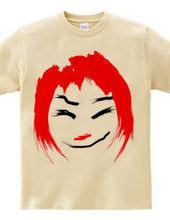 赤髪の女の子