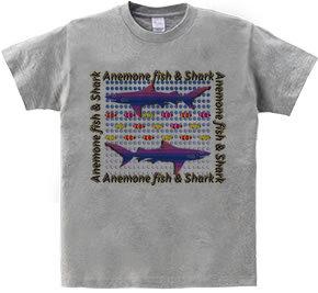 鮫とクマノミ