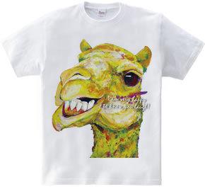 君が笑顔なら私も嬉しいよTシャツ