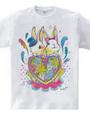 復興応援Tシャツ(ウサギ)