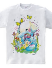 Reconstruction support t-shirt (elephant