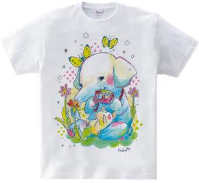 復興応援Tシャツ(ゾウ)