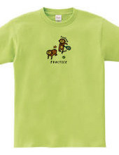 TENNIS -forehand & monkey