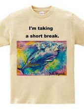 「一息ついてる?」byマッコウクジラちゃん