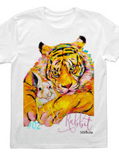 Tiger and rabbit  t-shirts