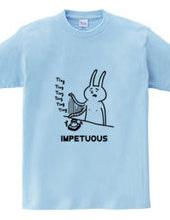 せっかちなウサギ