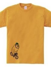 ロードレース・自転車 大きなシロクマ