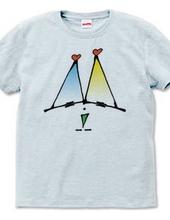 三角グラデくん
