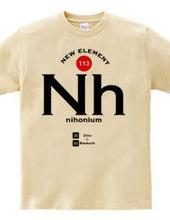 日本発見の新元素 ニホニウム Nh Design