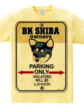 BK Shiba owner s private parking B