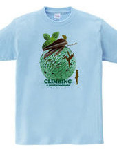 Climbing mint chocolate