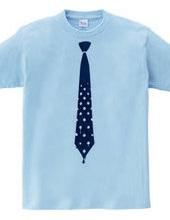 水玉したたるネクタイ