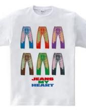 6人のジーンズ