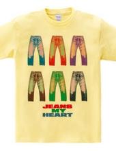 Six men jeans