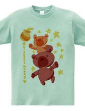 Bear with honey (my sweet honey)