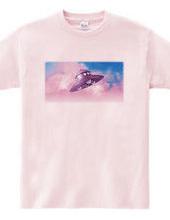 青空と円盤/ピンク