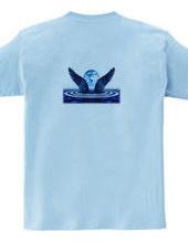 青い翼を背負って