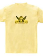 黄金の翼を背負って
