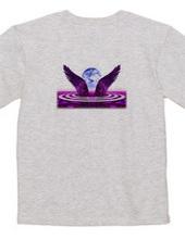 紫紺の翼を背負って