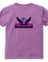 Wings of the bluish purple on the back