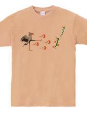 ヘビクイワシの百裂キック