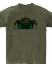 Saber-toothed cat/Green (back)