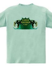 Saber-toothed cat/Green (back)