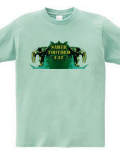 Saber-toothed cat/Green (front)