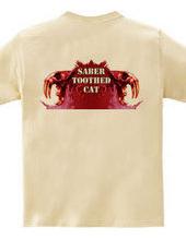 Saber-toothed cat Red (back)
