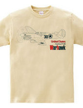 P-40 warhawk 戦闘機