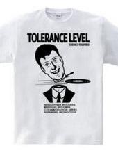 TOLERANCE LEVEL