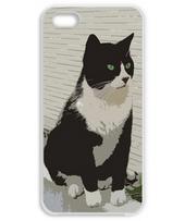 タキシードキャット ブラック&ホワイト iPhone