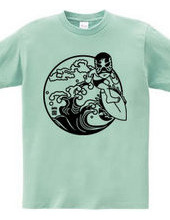 SURF LUCHADOR#2 mono
