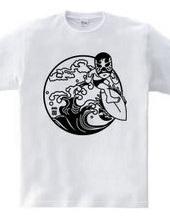 Mono SURF LUCHADOR # 2